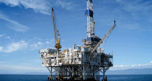 Offshore Oil-Rig Drilling Platform