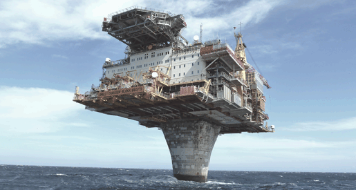 Offshore Oil-Rig Drilling Platform